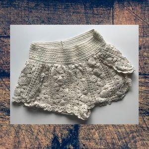 Rue21 Crochet Shorts